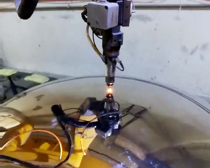 5 Axis 3D Laser Cutting of Mirror Polished Sphere