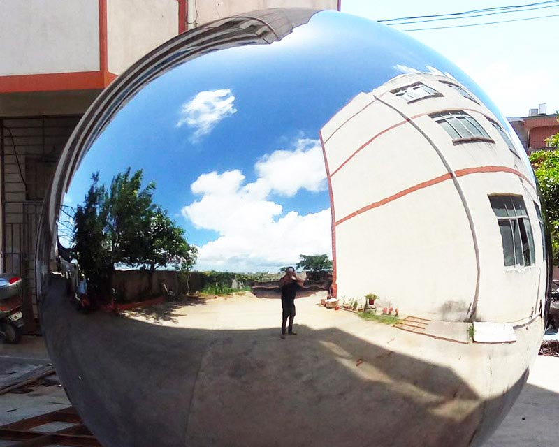 Mirror Polished Stainless Steel Sphere