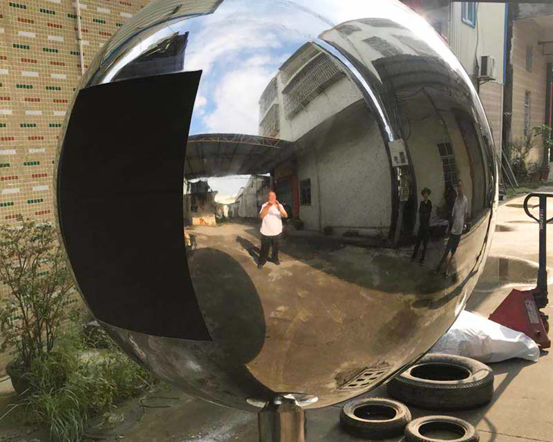 6 Foot Sphere w/ Large Window Cut Out