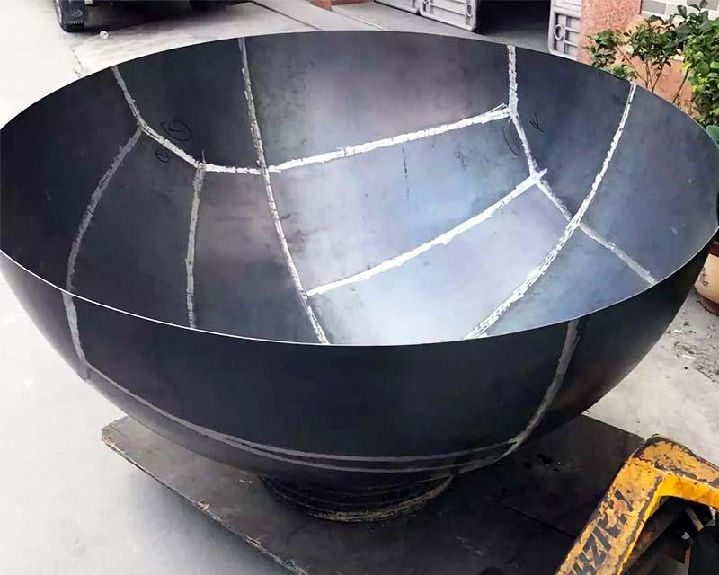 Large Mild Steel Hemisphere