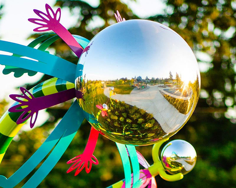 48 inch Mirror Polished Steel Sphere