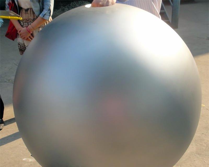 Full Surface Sandblasted Stainless Steel Sphere