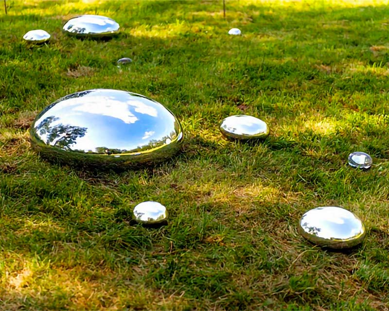 Mirror Polished Stainless Steel Rock Shapes
