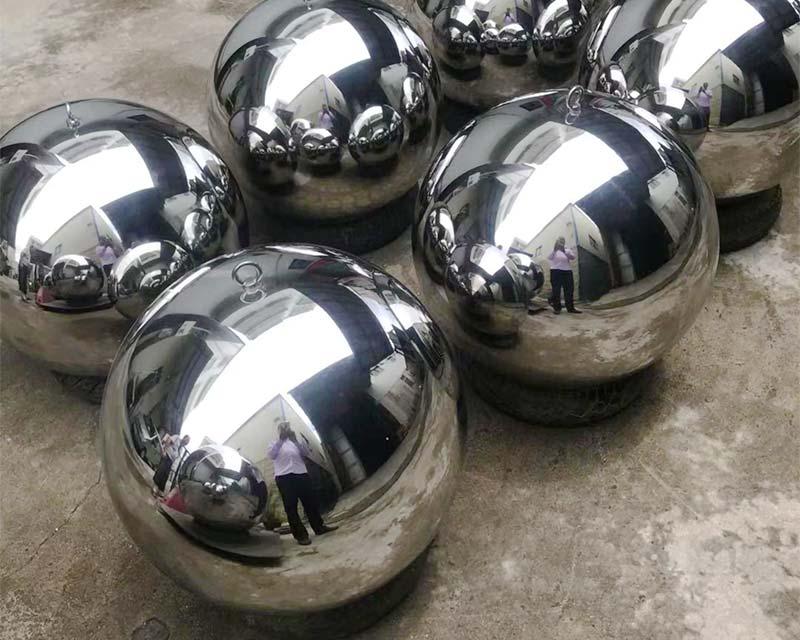 Stainless Steel Spheres w/ Eye-hook